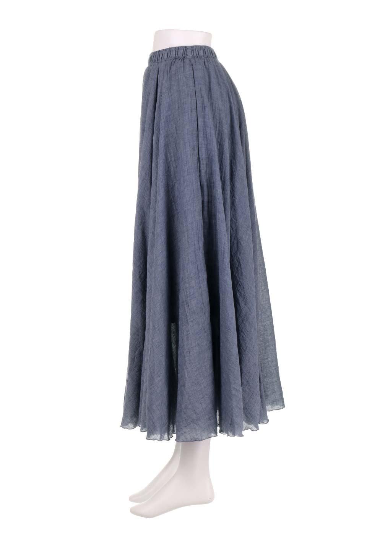 HighWaistLinenmaxiSkirtハイウエスト・リネンマキシスカートのボトムやスカート。薄手で軽やかなスカート。コーディネートのしやすさ抜群のオールマイティーなスカート。/main-17