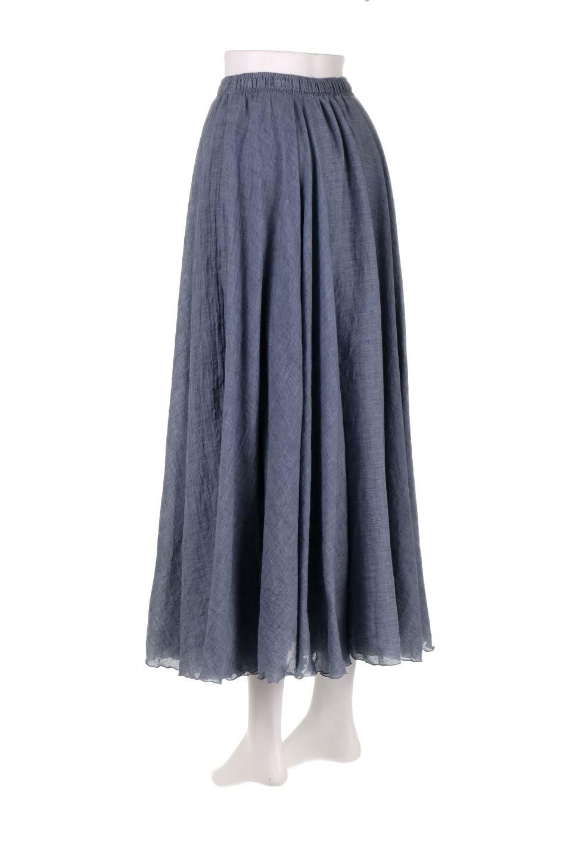 HighWaistLinenmaxiSkirtハイウエスト・リネンマキシスカートのボトムやスカート。薄手で軽やかなスカート。コーディネートのしやすさ抜群のオールマイティーなスカート。/main-18