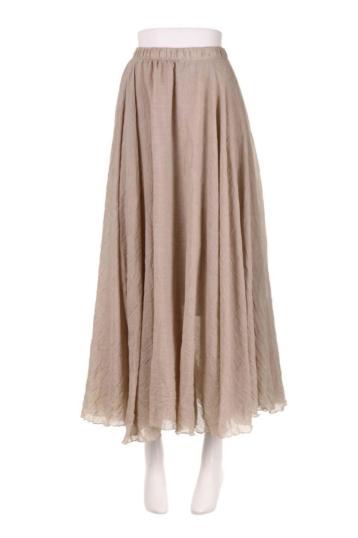 HighWaistLinenmaxiSkirtハイウエスト・リネンマキシスカートのボトムやスカート。薄手で軽やかなスカート。コーディネートのしやすさ抜群のオールマイティーなスカート。/main-20