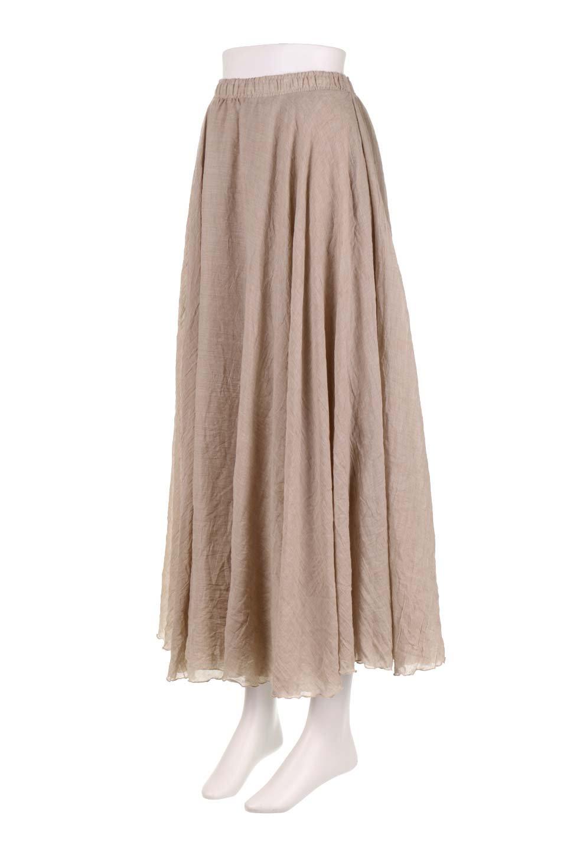 HighWaistLinenmaxiSkirtハイウエスト・リネンマキシスカートのボトムやスカート。薄手で軽やかなスカート。コーディネートのしやすさ抜群のオールマイティーなスカート。/main-21