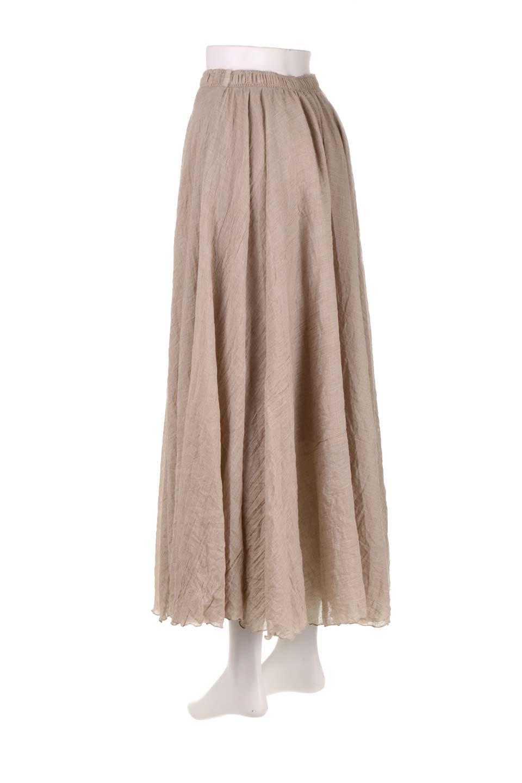 HighWaistLinenmaxiSkirtハイウエスト・リネンマキシスカートのボトムやスカート。薄手で軽やかなスカート。コーディネートのしやすさ抜群のオールマイティーなスカート。/main-23