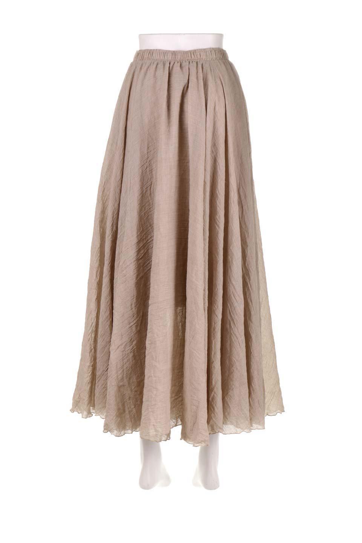 HighWaistLinenmaxiSkirtハイウエスト・リネンマキシスカートのボトムやスカート。薄手で軽やかなスカート。コーディネートのしやすさ抜群のオールマイティーなスカート。/main-24