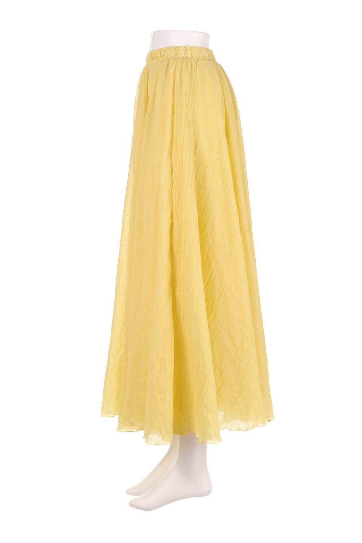 HighWaistLinenmaxiSkirtハイウエスト・リネンマキシスカートのボトムやスカート。薄手で軽やかなスカート。コーディネートのしやすさ抜群のオールマイティーなスカート。/main-27