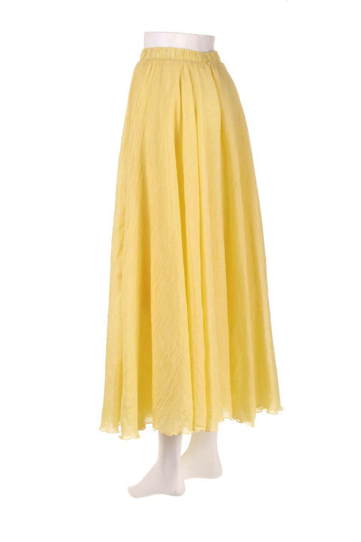 HighWaistLinenmaxiSkirtハイウエスト・リネンマキシスカートのボトムやスカート。薄手で軽やかなスカート。コーディネートのしやすさ抜群のオールマイティーなスカート。/main-28