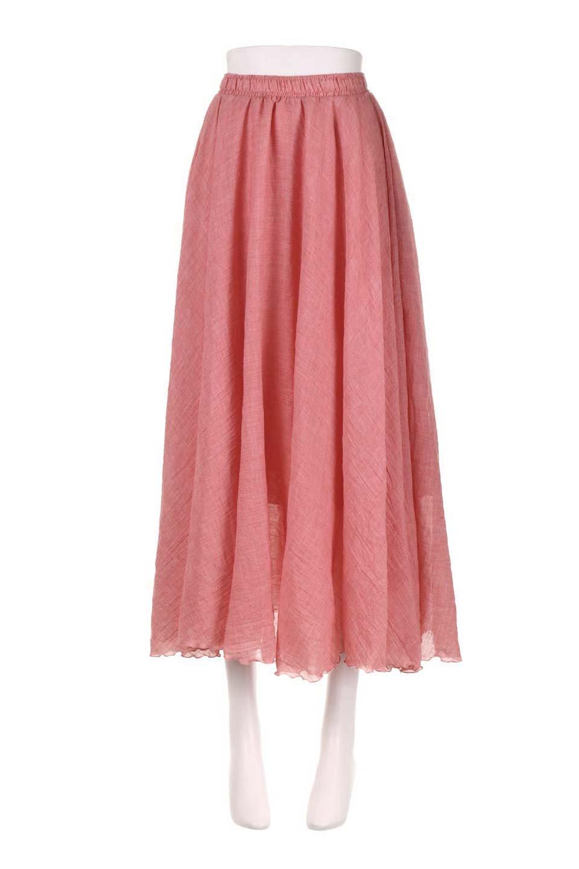 HighWaistLinenmaxiSkirtハイウエスト・リネンマキシスカートのボトムやスカート。薄手で軽やかなスカート。コーディネートのしやすさ抜群のオールマイティーなスカート。/main-30