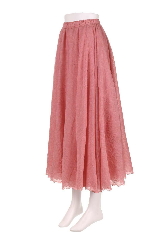HighWaistLinenmaxiSkirtハイウエスト・リネンマキシスカートのボトムやスカート。薄手で軽やかなスカート。コーディネートのしやすさ抜群のオールマイティーなスカート。/main-31