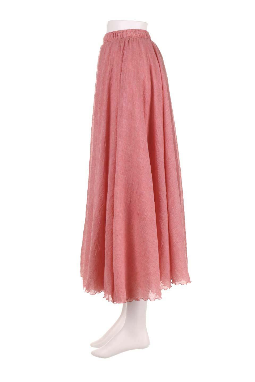 HighWaistLinenmaxiSkirtハイウエスト・リネンマキシスカートのボトムやスカート。薄手で軽やかなスカート。コーディネートのしやすさ抜群のオールマイティーなスカート。/main-32