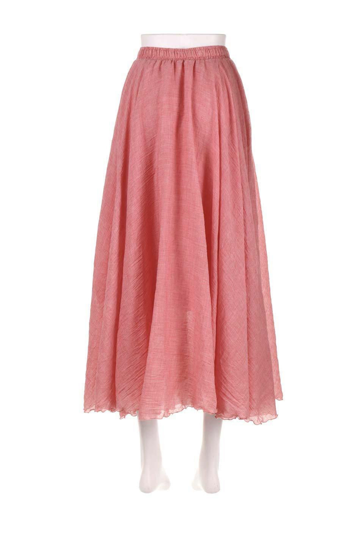HighWaistLinenmaxiSkirtハイウエスト・リネンマキシスカートのボトムやスカート。薄手で軽やかなスカート。コーディネートのしやすさ抜群のオールマイティーなスカート。/main-34