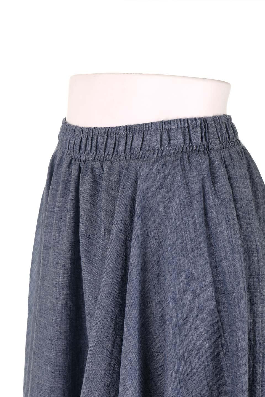 HighWaistLinenmaxiSkirtハイウエスト・リネンマキシスカートのボトムやスカート。薄手で軽やかなスカート。コーディネートのしやすさ抜群のオールマイティーなスカート。/main-35