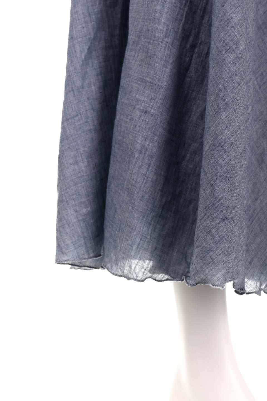 HighWaistLinenmaxiSkirtハイウエスト・リネンマキシスカートのボトムやスカート。薄手で軽やかなスカート。コーディネートのしやすさ抜群のオールマイティーなスカート。/main-36