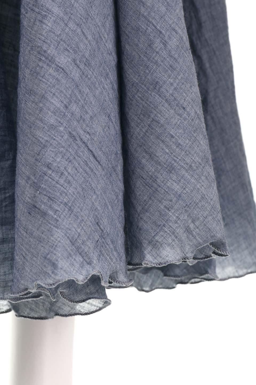 HighWaistLinenmaxiSkirtハイウエスト・リネンマキシスカートのボトムやスカート。薄手で軽やかなスカート。コーディネートのしやすさ抜群のオールマイティーなスカート。/main-37