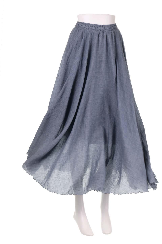 HighWaistLinenmaxiSkirtハイウエスト・リネンマキシスカートのボトムやスカート。薄手で軽やかなスカート。コーディネートのしやすさ抜群のオールマイティーなスカート。/main-39