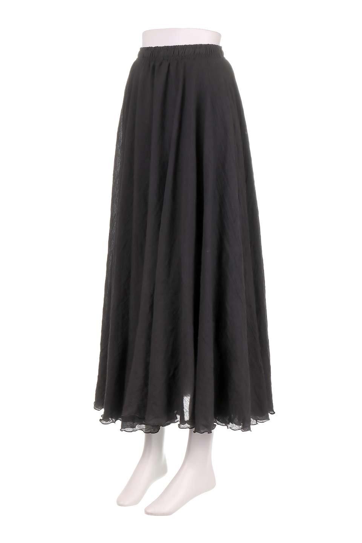HighWaistLinenmaxiSkirtハイウエスト・リネンマキシスカートのボトムやスカート。薄手で軽やかなスカート。コーディネートのしやすさ抜群のオールマイティーなスカート。/main-6
