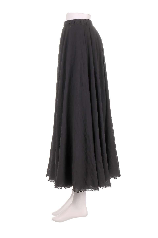 HighWaistLinenmaxiSkirtハイウエスト・リネンマキシスカートのボトムやスカート。薄手で軽やかなスカート。コーディネートのしやすさ抜群のオールマイティーなスカート。/main-7