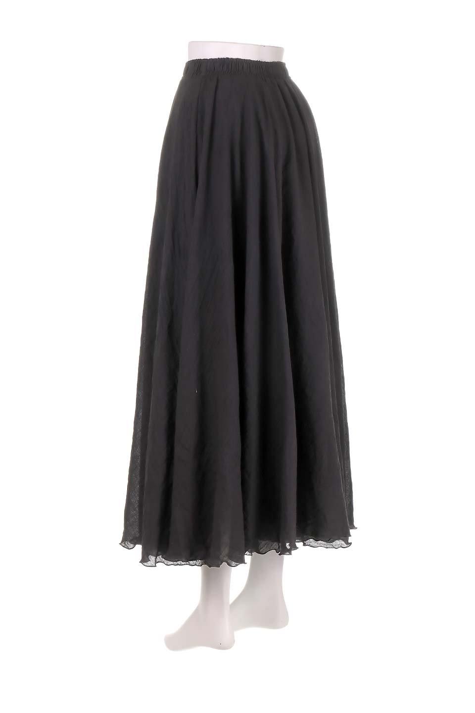 HighWaistLinenmaxiSkirtハイウエスト・リネンマキシスカートのボトムやスカート。薄手で軽やかなスカート。コーディネートのしやすさ抜群のオールマイティーなスカート。/main-8