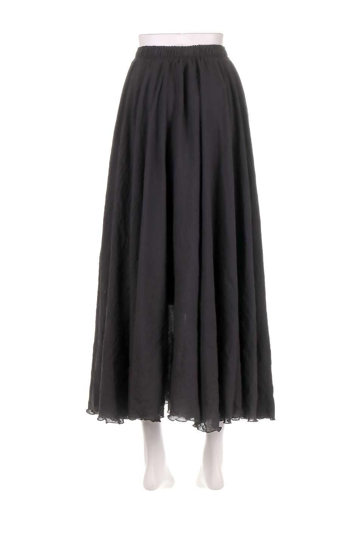 HighWaistLinenmaxiSkirtハイウエスト・リネンマキシスカートのボトムやスカート。薄手で軽やかなスカート。コーディネートのしやすさ抜群のオールマイティーなスカート。/main-9
