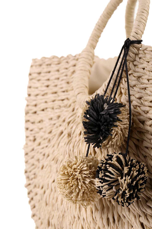 meliebiancoのErin(Natural)半円型かごバッグ/海外ファッション好きにオススメのインポートバッグとかばん、MelieBianco(メリービアンコ)のバッグやその他。真夏の太陽が恋しくなるようなオシャレなかごバッグ。持ち手から延びる放射状の網目が目を引きます。/main-11