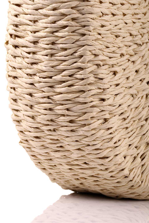 meliebiancoのErin(Natural)半円型かごバッグ/海外ファッション好きにオススメのインポートバッグとかばん、MelieBianco(メリービアンコ)のバッグやその他。真夏の太陽が恋しくなるようなオシャレなかごバッグ。持ち手から延びる放射状の網目が目を引きます。/main-14