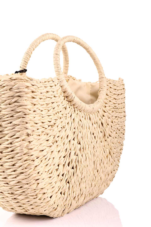 meliebiancoのErin(Natural)半円型かごバッグ/海外ファッション好きにオススメのインポートバッグとかばん、MelieBianco(メリービアンコ)のバッグやその他。真夏の太陽が恋しくなるようなオシャレなかごバッグ。持ち手から延びる放射状の網目が目を引きます。/main-6