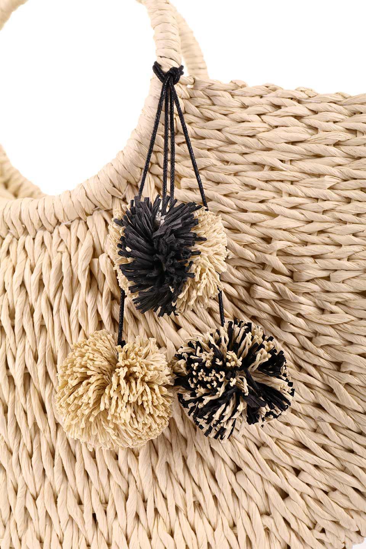 meliebiancoのErin(Natural)半円型かごバッグ/海外ファッション好きにオススメのインポートバッグとかばん、MelieBianco(メリービアンコ)のバッグやその他。真夏の太陽が恋しくなるようなオシャレなかごバッグ。持ち手から延びる放射状の網目が目を引きます。/main-9