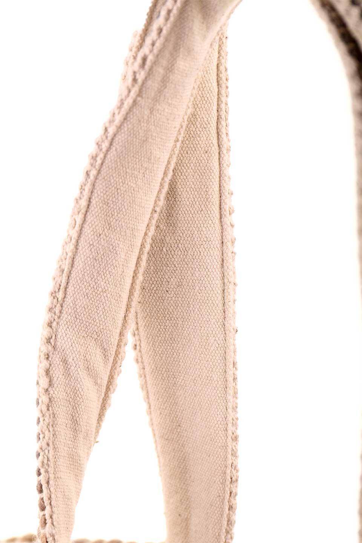 LOVESTITCHのCatalinaToteオルテガ・ポンポントートバッグ/海外ファッションが好きな大人カジュアルのためのLOVESTITCH(ラブステッチ)のバッグやトートバッグ。オルテガ柄にポンポンをデザインした大き目トートバッグ。カーペットのようなしっかりした生地なので長く愛用できます。/main-8