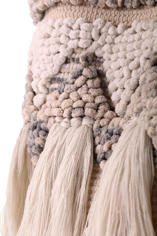 LOVESTITCHのTrudieToteジグザグストライプ・フリンジトートバッグ/海外ファッションが好きな大人カジュアルのためのLOVESTITCH(ラブステッチ)のバッグやトートバッグ。ジグザグ柄にたっぷり目のフリンジが可愛らしい大き目トートバッグ。明るめのカラーリングにロープの持ち手でマリン系の雰囲気もあり、西海岸風のカジュアル好きにはたまらないアイテムです。/main-15