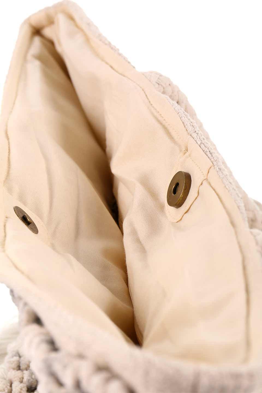 LOVESTITCHのTrudieToteジグザグストライプ・フリンジトートバッグ/海外ファッションが好きな大人カジュアルのためのLOVESTITCH(ラブステッチ)のバッグやトートバッグ。ジグザグ柄にたっぷり目のフリンジが可愛らしい大き目トートバッグ。明るめのカラーリングにロープの持ち手でマリン系の雰囲気もあり、西海岸風のカジュアル好きにはたまらないアイテムです。/main-19