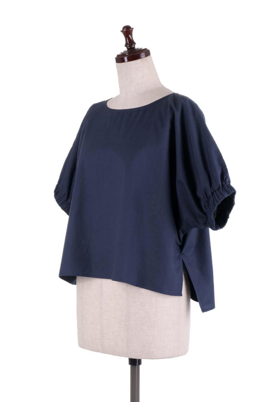 DolmanWideBlouseドルマンスリーブ・ワイドブラウス大人カジュアルに最適な海外ファッションのothers(その他インポートアイテム)のトップスやシャツ・ブラウス。張りのあるしっかりした生地のドルマンスリーブブラウス。スクエアデザインのゆったりシルエットで体系を問わず楽しめるアイテムです。/main-11