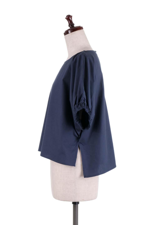 DolmanWideBlouseドルマンスリーブ・ワイドブラウス大人カジュアルに最適な海外ファッションのothers(その他インポートアイテム)のトップスやシャツ・ブラウス。張りのあるしっかりした生地のドルマンスリーブブラウス。スクエアデザインのゆったりシルエットで体系を問わず楽しめるアイテムです。/main-12