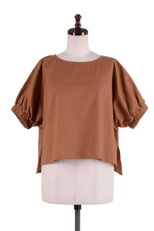 DolmanWideBlouseドルマンスリーブ・ワイドブラウス大人カジュアルに最適な海外ファッションのothers(その他インポートアイテム)のトップスやシャツ・ブラウス。張りのあるしっかりした生地のドルマンスリーブブラウス。スクエアデザインのゆったりシルエットで体系を問わず楽しめるアイテムです。/main-5