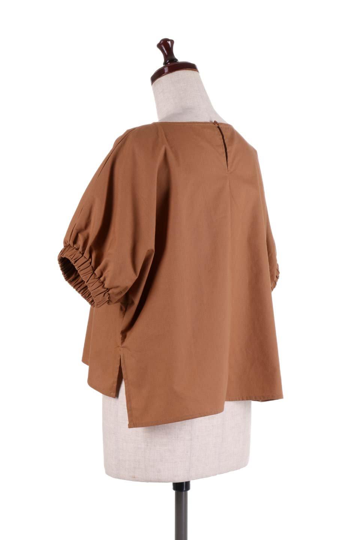 DolmanWideBlouseドルマンスリーブ・ワイドブラウス大人カジュアルに最適な海外ファッションのothers(その他インポートアイテム)のトップスやシャツ・ブラウス。張りのあるしっかりした生地のドルマンスリーブブラウス。スクエアデザインのゆったりシルエットで体系を問わず楽しめるアイテムです。/main-8