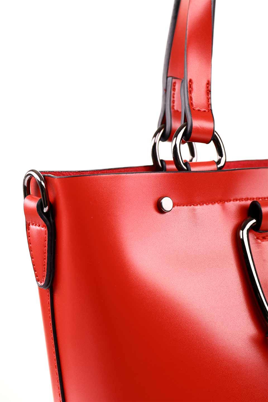 meliebiancoのBlanche(Red)グロスレザー・3WAYハンドバッグ/海外ファッション好きにオススメのインポートバッグとかばん、MelieBianco(メリービアンコ)のバッグやハンドバッグ。しっとりとしたグロスタイプのビーガンレザーを使用した高級感あふれるハンドバッグ。予約の時より店頭で実物をご覧になった方達に人気があるバッグです。/main-14