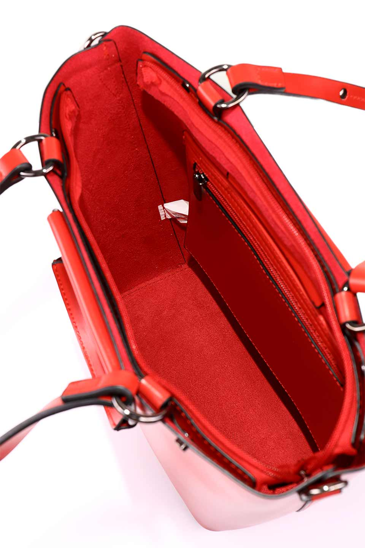 meliebiancoのBlanche(Red)グロスレザー・3WAYハンドバッグ/海外ファッション好きにオススメのインポートバッグとかばん、MelieBianco(メリービアンコ)のバッグやハンドバッグ。しっとりとしたグロスタイプのビーガンレザーを使用した高級感あふれるハンドバッグ。予約の時より店頭で実物をご覧になった方達に人気があるバッグです。/main-20