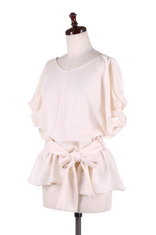 SlubGauzeDolmanBlouseレーヨンスラブガーゼ・ドルマンブラウス大人カジュアルに最適な海外ファッションのothers(その他インポートアイテム)のトップスやシャツ・ブラウス。ムラ糸を使用した夏素材が嬉しいドルマンスリーブのブラウス。生地はレーヨン100%のスラブガーゼでテロテロの質感がです。/main-11