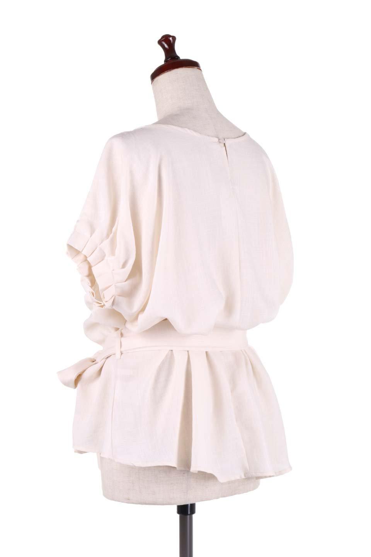 SlubGauzeDolmanBlouseレーヨンスラブガーゼ・ドルマンブラウス大人カジュアルに最適な海外ファッションのothers(その他インポートアイテム)のトップスやシャツ・ブラウス。ムラ糸を使用した夏素材が嬉しいドルマンスリーブのブラウス。生地はレーヨン100%のスラブガーゼでテロテロの質感がです。/main-13