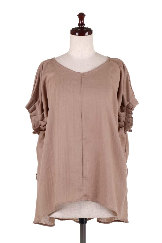 SlubGauzeDolmanBlouseレーヨンスラブガーゼ・ドルマンブラウス大人カジュアルに最適な海外ファッションのothers(その他インポートアイテム)のトップスやシャツ・ブラウス。ムラ糸を使用した夏素材が嬉しいドルマンスリーブのブラウス。生地はレーヨン100%のスラブガーゼでテロテロの質感がです。/main-20