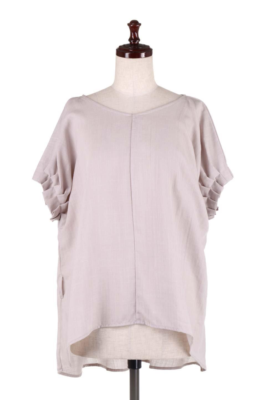 SlubGauzeDolmanBlouseレーヨンスラブガーゼ・ドルマンブラウス大人カジュアルに最適な海外ファッションのothers(その他インポートアイテム)のトップスやシャツ・ブラウス。ムラ糸を使用した夏素材が嬉しいドルマンスリーブのブラウス。生地はレーヨン100%のスラブガーゼでテロテロの質感がです。/main-22