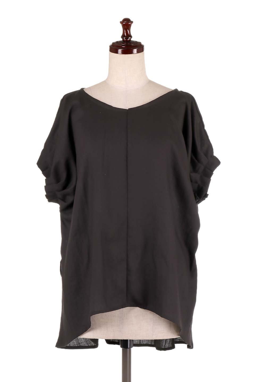 SlubGauzeDolmanBlouseレーヨンスラブガーゼ・ドルマンブラウス大人カジュアルに最適な海外ファッションのothers(その他インポートアイテム)のトップスやシャツ・ブラウス。ムラ糸を使用した夏素材が嬉しいドルマンスリーブのブラウス。生地はレーヨン100%のスラブガーゼでテロテロの質感がです。/main-26