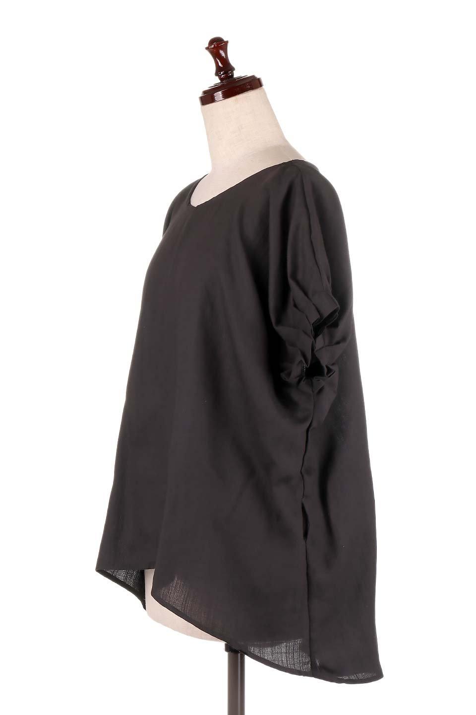 SlubGauzeDolmanBlouseレーヨンスラブガーゼ・ドルマンブラウス大人カジュアルに最適な海外ファッションのothers(その他インポートアイテム)のトップスやシャツ・ブラウス。ムラ糸を使用した夏素材が嬉しいドルマンスリーブのブラウス。生地はレーヨン100%のスラブガーゼでテロテロの質感がです。/main-27