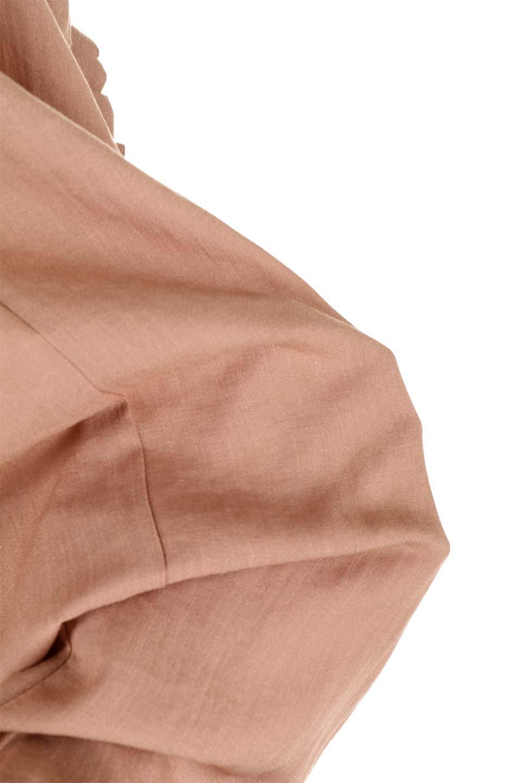 SlubGauzeDolmanBlouseレーヨンスラブガーゼ・ドルマンブラウス大人カジュアルに最適な海外ファッションのothers(その他インポートアイテム)のトップスやシャツ・ブラウス。ムラ糸を使用した夏素材が嬉しいドルマンスリーブのブラウス。生地はレーヨン100%のスラブガーゼでテロテロの質感がです。/main-35