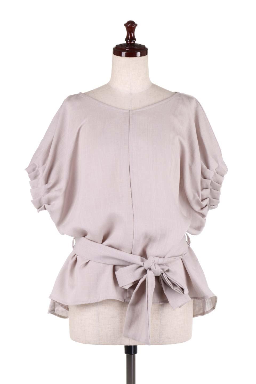 SlubGauzeDolmanBlouseレーヨンスラブガーゼ・ドルマンブラウス大人カジュアルに最適な海外ファッションのothers(その他インポートアイテム)のトップスやシャツ・ブラウス。ムラ糸を使用した夏素材が嬉しいドルマンスリーブのブラウス。生地はレーヨン100%のスラブガーゼでテロテロの質感がです。/main-5