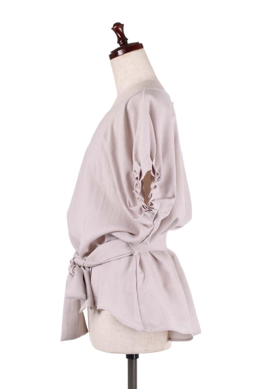 SlubGauzeDolmanBlouseレーヨンスラブガーゼ・ドルマンブラウス大人カジュアルに最適な海外ファッションのothers(その他インポートアイテム)のトップスやシャツ・ブラウス。ムラ糸を使用した夏素材が嬉しいドルマンスリーブのブラウス。生地はレーヨン100%のスラブガーゼでテロテロの質感がです。/main-7