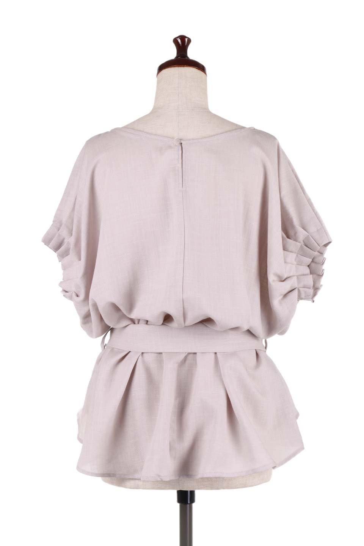 SlubGauzeDolmanBlouseレーヨンスラブガーゼ・ドルマンブラウス大人カジュアルに最適な海外ファッションのothers(その他インポートアイテム)のトップスやシャツ・ブラウス。ムラ糸を使用した夏素材が嬉しいドルマンスリーブのブラウス。生地はレーヨン100%のスラブガーゼでテロテロの質感がです。/main-9