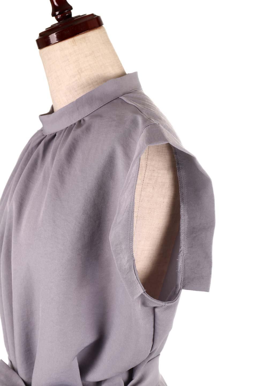 BackButtonSlitDressバックボタン・サイドスリットワンピース大人カジュアルに最適な海外ファッションのothers(その他インポートアイテム)のワンピースやミディワンピース。柔らかく着心地の良いノースリーブのワンピース。若干光沢感のある生地はなめらかで優しいドレープ感が出るソフトな風合いです。/main-22