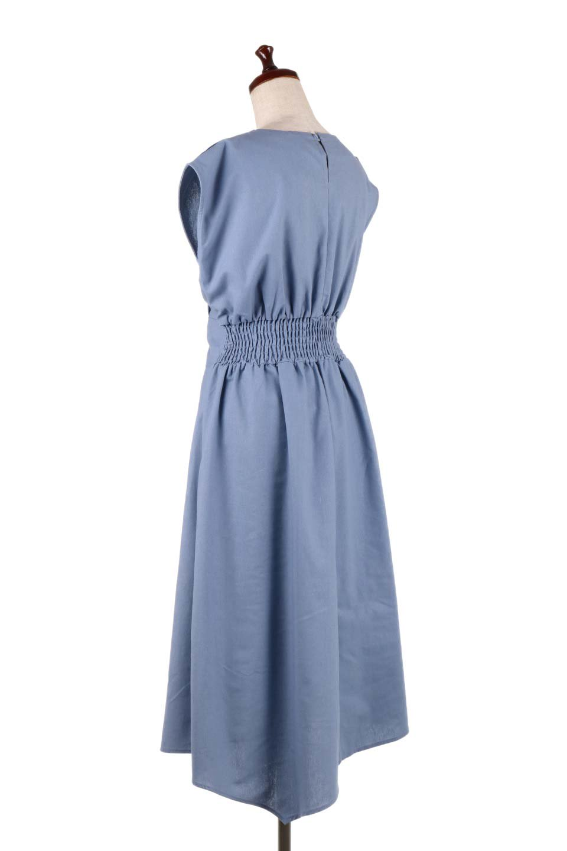 FrenchSleeveCache-CoeurDress麻混カシュクールワンピース大人カジュアルに最適な海外ファッションのothers(その他インポートアイテム)のワンピースやミディワンピース。夏にうれしい麻混素材のキレイ目なカシュクールワンピース。リネン独特な張りが綺麗なシルエットを演出してくれます。/main-13