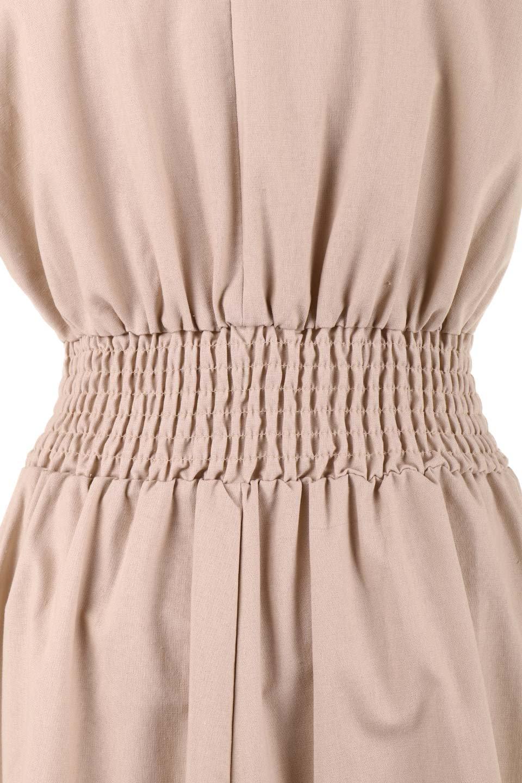 FrenchSleeveCache-CoeurDress麻混カシュクールワンピース大人カジュアルに最適な海外ファッションのothers(その他インポートアイテム)のワンピースやミディワンピース。夏にうれしい麻混素材のキレイ目なカシュクールワンピース。リネン独特な張りが綺麗なシルエットを演出してくれます。/main-26