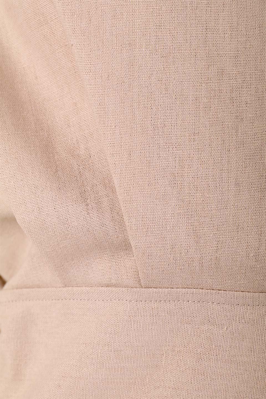 FrenchSleeveCache-CoeurDress麻混カシュクールワンピース大人カジュアルに最適な海外ファッションのothers(その他インポートアイテム)のワンピースやミディワンピース。夏にうれしい麻混素材のキレイ目なカシュクールワンピース。リネン独特な張りが綺麗なシルエットを演出してくれます。/main-29
