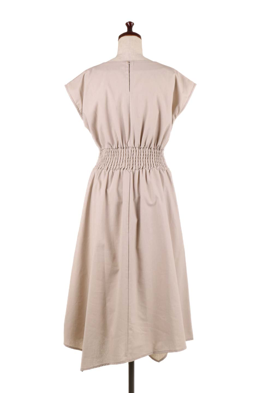FrenchSleeveCache-CoeurDress麻混カシュクールワンピース大人カジュアルに最適な海外ファッションのothers(その他インポートアイテム)のワンピースやミディワンピース。夏にうれしい麻混素材のキレイ目なカシュクールワンピース。リネン独特な張りが綺麗なシルエットを演出してくれます。/main-9