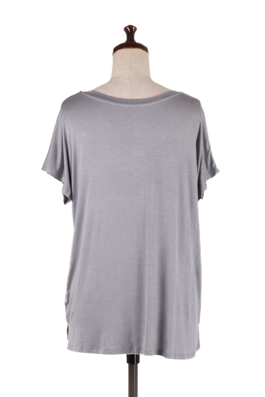L.A.直輸入のClassicDolmanSleeveV-neckTeeドルマンスリーブ・VネックTシャツ大人カジュアルに最適な海外ファッションのothers(その他インポートアイテム)のトップスやTシャツ。シンプルなドルマンスリーブのVネックTシャツ。レーヨンのテロテロ感がとても気持ち良いトップスです。/main-14