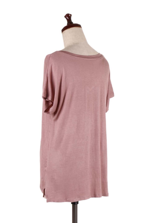 L.A.直輸入のClassicDolmanSleeveV-neckTeeドルマンスリーブ・VネックTシャツ大人カジュアルに最適な海外ファッションのothers(その他インポートアイテム)のトップスやTシャツ。シンプルなドルマンスリーブのVネックTシャツ。レーヨンのテロテロ感がとても気持ち良いトップスです。/main-18